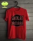 Kaos Shalat Jamaah