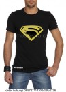 Kaos Superman Gold