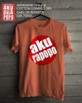 Kaos Akurapopo orange